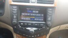 2003- HONDA Accord Navigation GPS Radio 6 CD Changer  OEM   warranty