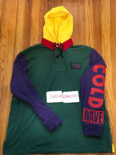 Polo Ralph Lauren Snow Beach Cold Wave Rugby XL - image 1
