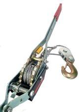 4 Ton Winch Come Along 2 Hooks Dual Ratchet Gear Heavy Duty Over 8000 Lbs