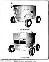 Davey Gasoline 1mc1a Compressor Technical Manual Parts Breakdown