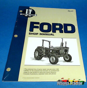 fo41 workshop manual ford 2600 3600 tractor 4100 4600 plus 2610 rh ebay com au 2600 Ford Tractor Specifications Ford 2600 Tractor Fluids Locations
