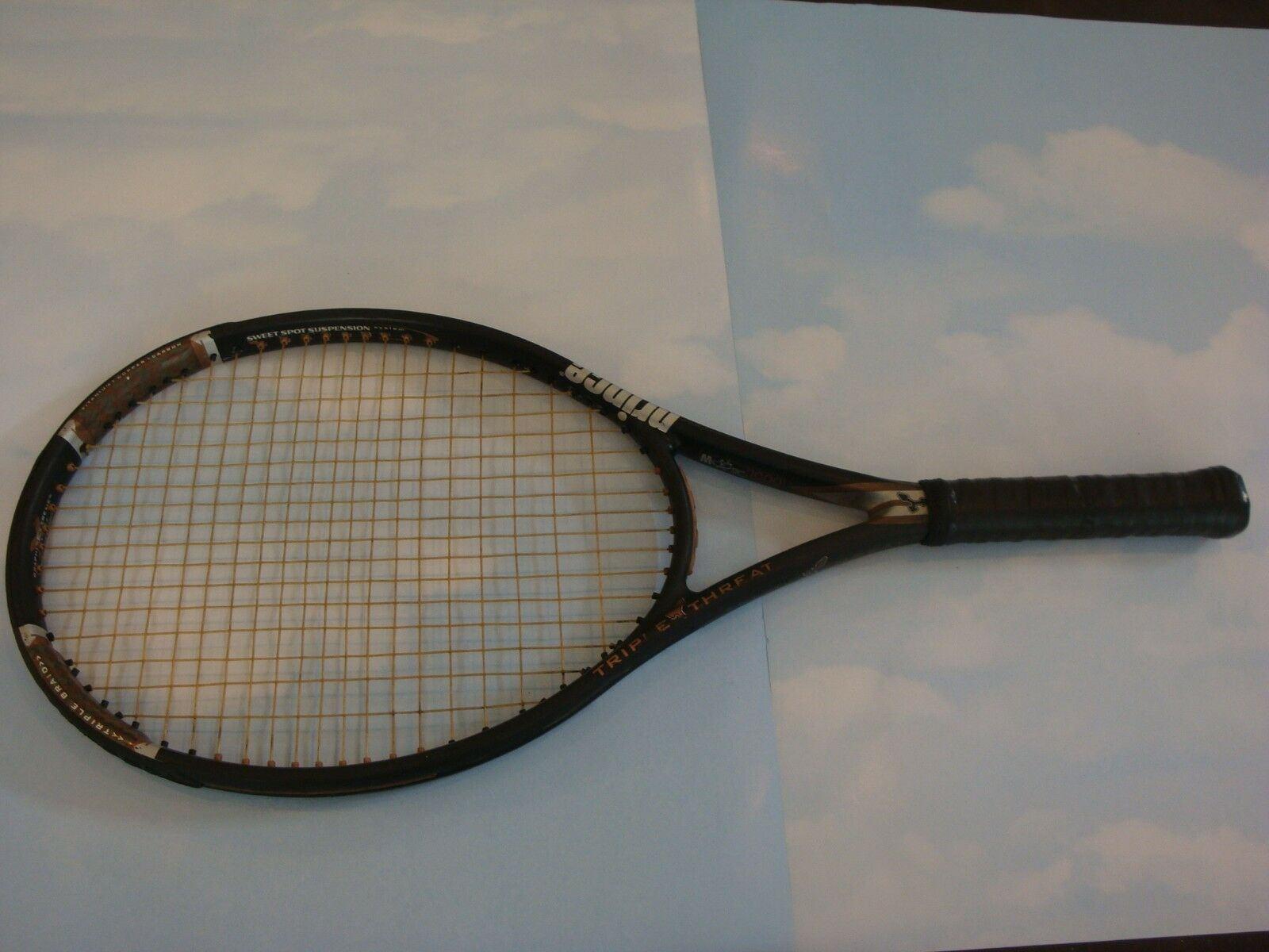PRINCE TT TRIPLE THREAT STEALTH OS OS STEALTH OVERSIZE,(4-1/4-3/8)*   {inv=300326} 0c3981