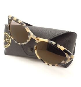 e7a6aa81ae Ray Ban 4314 N Nina 1251 39 Havana Beige Gold Gray Sunglasses New ...