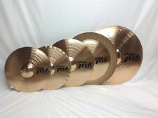 "Paiste PST5 Rock Cymbal Set/Free 18"" China, Cow Bell & Stick Bag W/Purchase!!"
