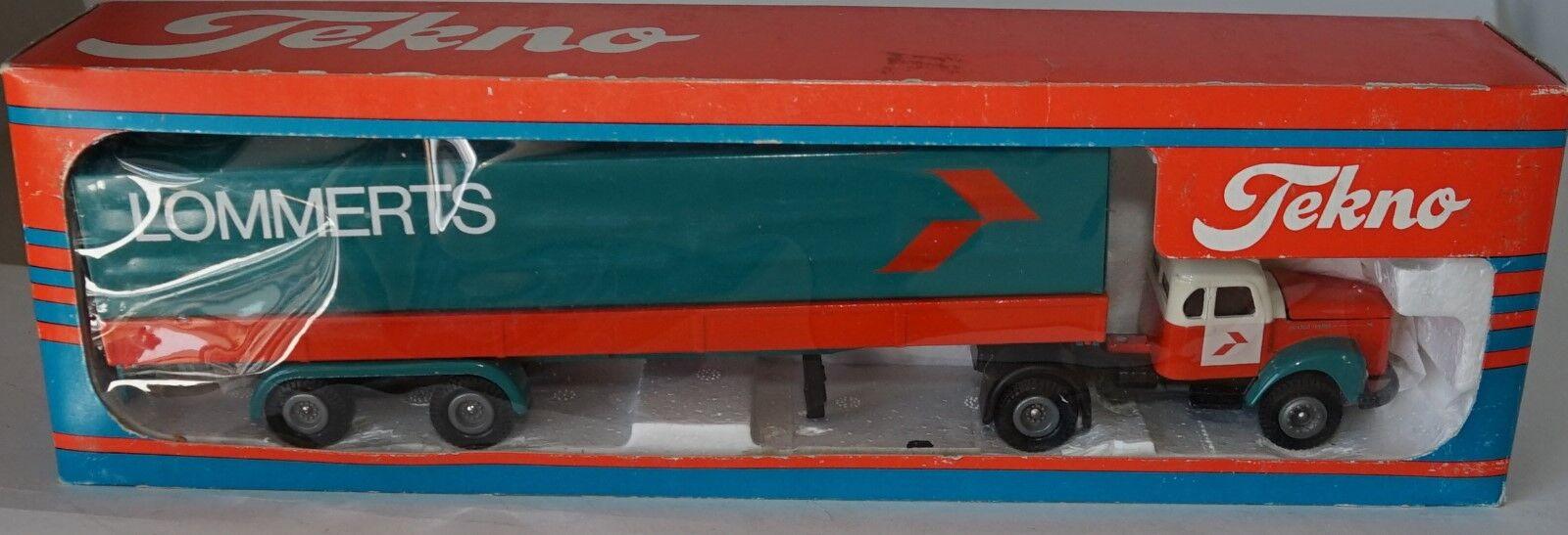 comprar marca Tekno 860807 Scania Vabis 76 con con con Lommerts Remolque en 1 50 Escala Raro  orden ahora disfrutar de gran descuento