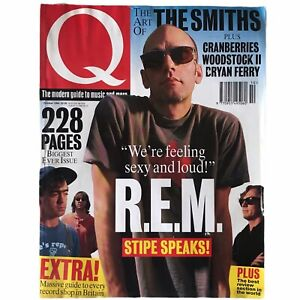 Q Magazine REM The Smiths Cranberries Woodstock Bryan Ferry Rolling Stones 1994