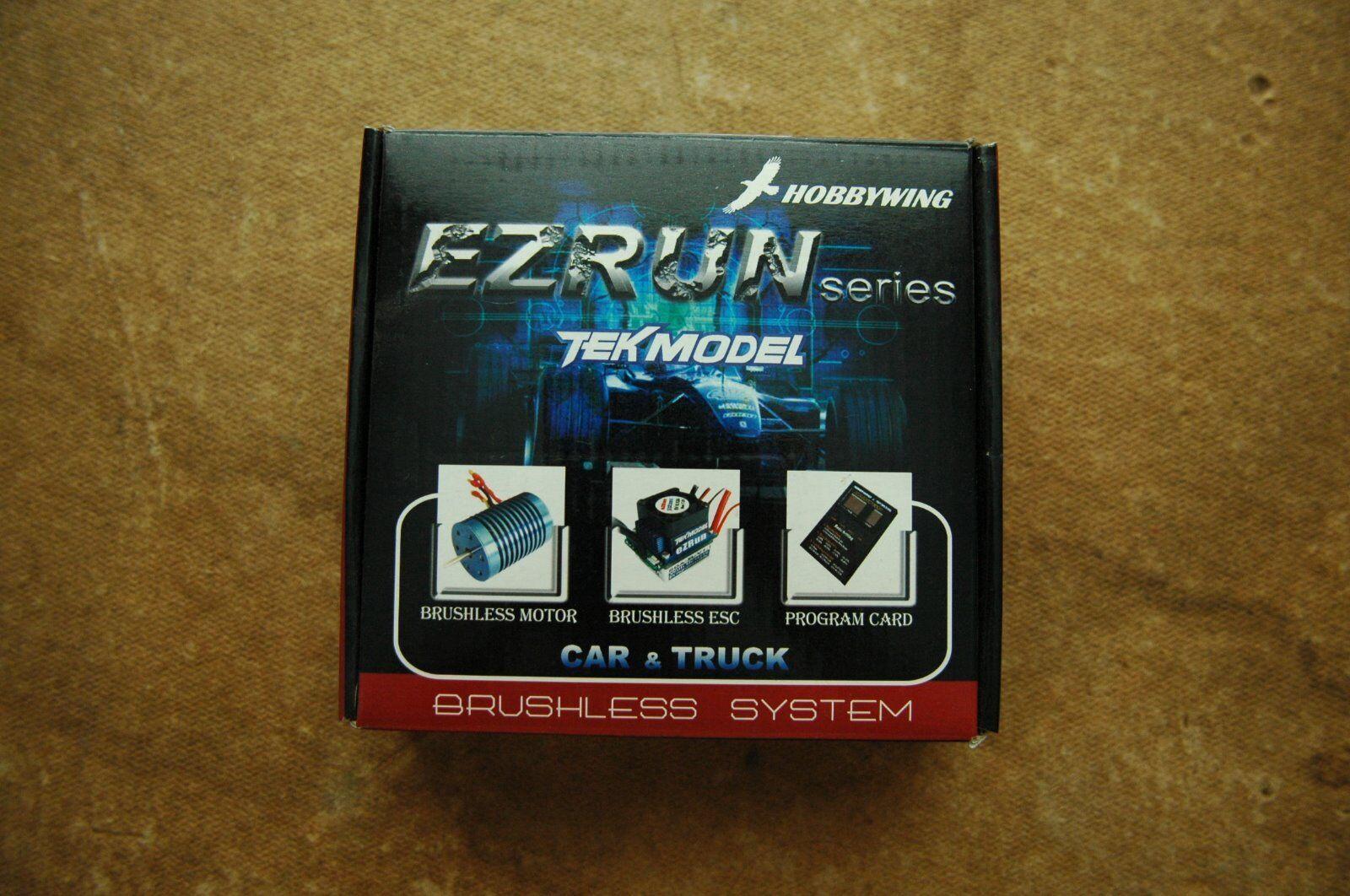 Hobbywing EZRUN Series TEKMODEL 1/10th Combo