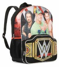 John CENA Backpack NEW WWE Backpack Full Size Canvas Book Bag Cenation 16x12 NWT