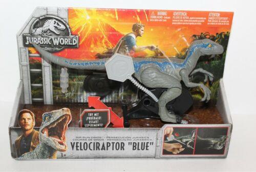 Jurassic World Velociraptor Blue Rip-Run Action Figure 2017 Mattel Brand New