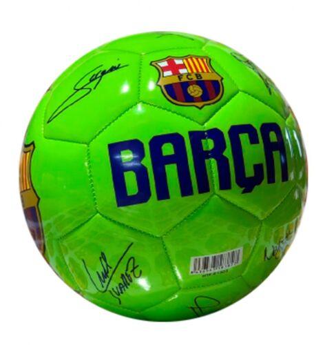 Ball offizielle Barcelona Größe 5 2019 Original Unterzeichnungen Autogramme Fußball