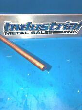 38 Diameter X 12 Long 110 Copper Round Rod 375 Diameter Lathe Stock