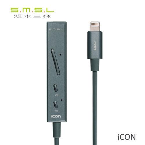SMSL ICON Lightning DAC//Headphone amplifier for iOS//Iphone//IPAD