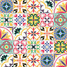 Traditional Tile Stickers Transfers for Kitchen, Bathroom and Furniture DIY T6