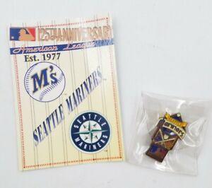 1994-Seattle-Mariners-American-League-Baseball-Lapel-Hat-Pin-Pinback-amp-Info-Card