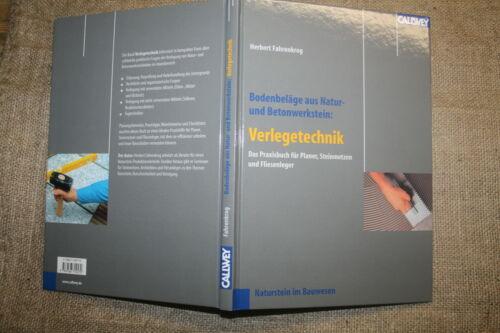 Fachbuch Steinmetz, Naturstein, Steinsetzer, Fliesenleger, Natursteinplatten neu