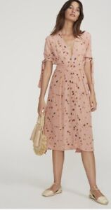affordable price arriving official images Faithfull The Brand Salina Floral Plunging Neckline Nina Midi ...