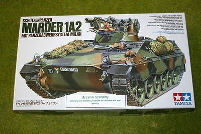 Tamiya German MARDER 1A2 with Milan anti tank missile 1/35 Scale  Kit 35162 D