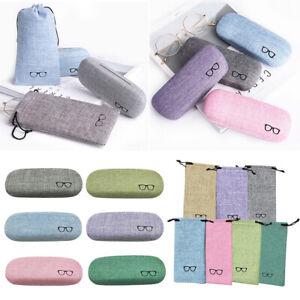 Outdoor-Portable-Linen-Etui-a-Lunettes-Boite-de-Rangement-Lunettes-Protecteur-FP