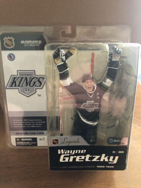 Wayne Gretzky McFarlane NHL Legends Series 1 Figure Los Angeles  Kings Jersey