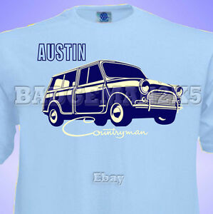 Classic-Mini-AUSTIN-COUNTRYMAN-WOODIE-Mens-T-Shirt-Perfect-for-Rallies