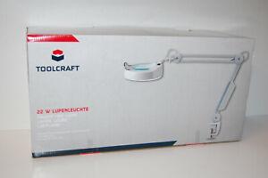 Clever Lupenleuchte 22 W Toolcraft Vergrößerungsfaktor 125 M Kaufen Sie Immer Gut 1,75 X Lupen-durchmesser