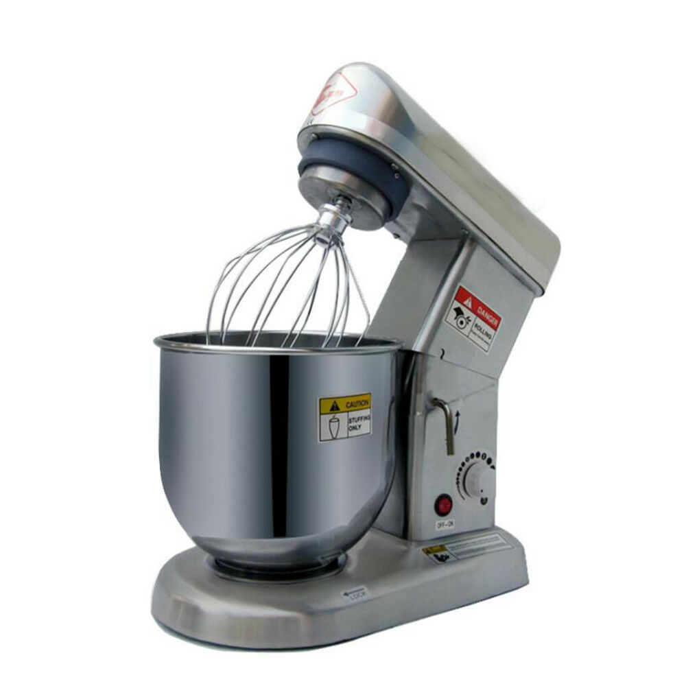 ASG Electric Stand Mixer Food Blender Baking Stainless Steel Mixing Bowl 7L 500W