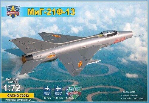 Neu Modelsvit MSVIT72042-1:72 MiG-21F-13 supersonic jet fighter