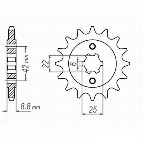 Honda CB 400 N 81-82 VX3 Kettenkit DID EXTRA verstärkt GOLD endlos