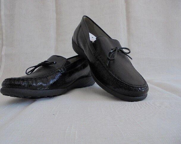 Mocassino Slipper mezza mezza Slipper scarpa corsa COMFORT PELLE BOSCO alfiere Taglia 4,5 (37,5) Larghezza K