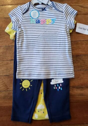 Pants Carter/'s 3 Piece Baby Girl Play Set Top Bodysuit NWT 3 M 6 M 9 M 24 M