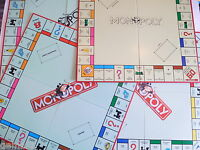 MONOPOLY GAME BOARD ONLY different styles Spares Replacements Star wars Disney