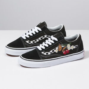 New VANS Womens Checker Floral Old