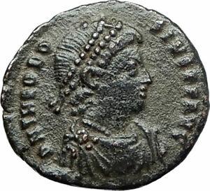 THEODOSIUS-I-the-GREAT379AD-Authentic-Ancient-Roman-Coin-Constantinopolis-i75855
