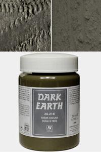 Vallejo Texture Dark Earth 26218 Vallejo