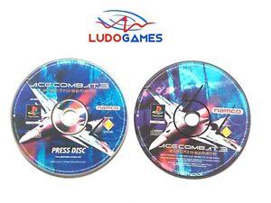 Ace-Combat-3-Electrosphere-Press-Kit-Psx-PS1-PLAYSTATION-Unpublished-Matiere