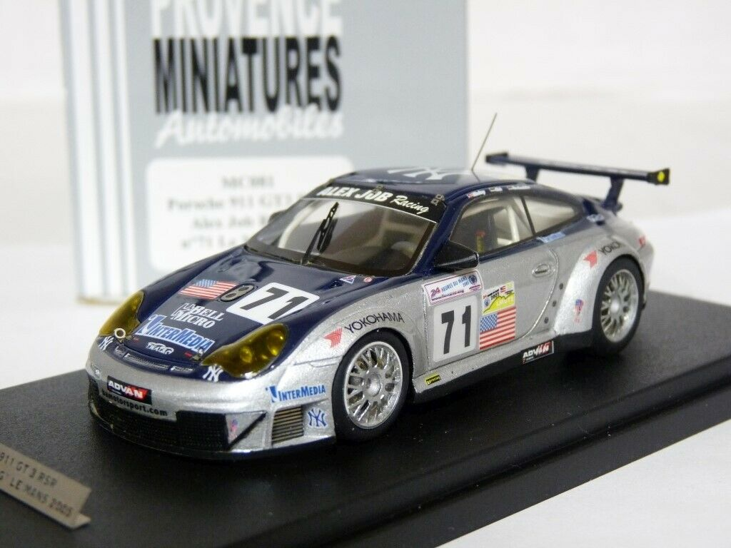 Provence MC081 1 43 Porsche 911 GT3 RSR Le Mans 2005 Handmade Resin Model Car