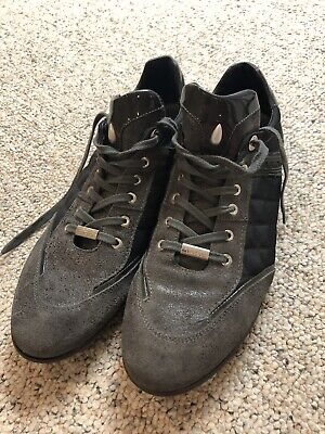 Mens Botticelli Limited Grey Sneakers EU 44US 11 Pre Owned | eBay