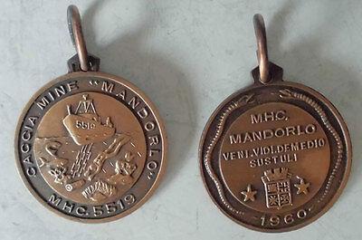 MEDAGLIA MARINA MILITARE ITALIANA CACCIA MINE MANDORLO MHC 5519