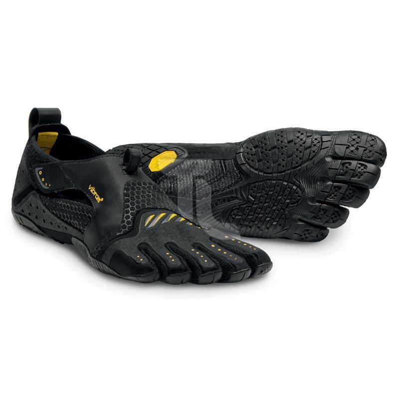 Vibram Five Fingers signa 13m-0201 negro amarillo hombre nuevo triathlonladen