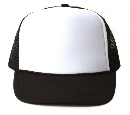 Comes In 10 Different Colors Vintage 2 Tone Foam Trucker Hat Cap