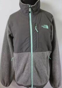 Women's Denali The Full Jacket North Polartec Details M Zu Gray Fleece Size Grey Zip Face 80OPknw