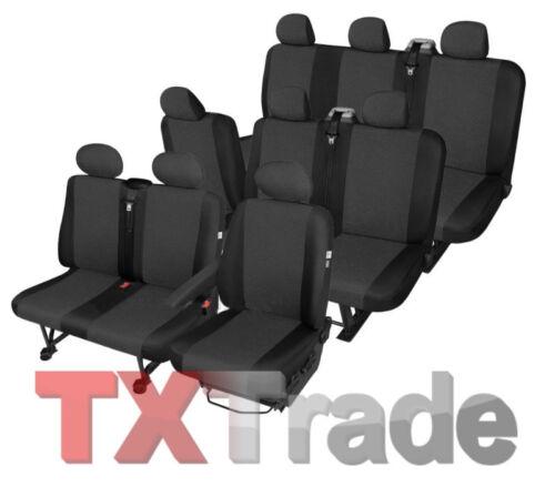Sitzbezüge RENAULT TRAFIC  9 Sitzer höchste Qualität