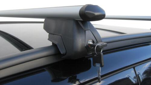 Aluminium Aero Roof Rack Bars Closed Rails BMW 3 Series Touring Estate E91 10/>12