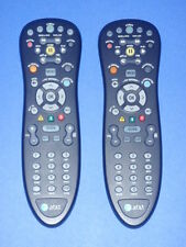 Lot of (2) AT&T U-verse Standard Remote Control BLACK S10-S4