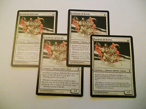 4x-MTG-Children-of-Korlis-Bambini-di-Magic-EDH-TS-Time-Spiral-ITA-ING-Modern-x4