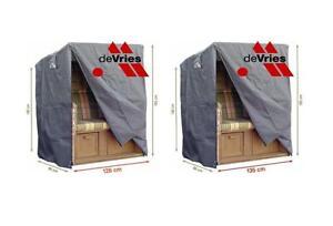 devries gartenm bel schutzh lle abdeckplane schutzhaube strandkorb wasserdicht ebay. Black Bedroom Furniture Sets. Home Design Ideas