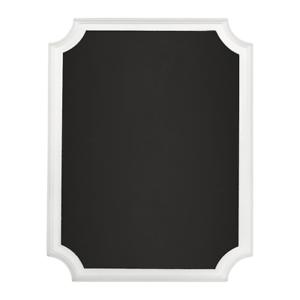 Nouveau Mariage Noël Blanc Paillettes Chevalet Tableau Noir MDF SIGNE 18 cm x 23 cm x 2 C