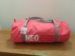 314cf2b516a6 New ADIDAS NEO girls women sport bag light   pink  zip closure  gym ...