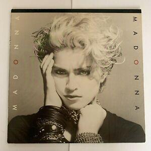 Madonna-Madonna-1982-Vinyl-Record-Condition-VG