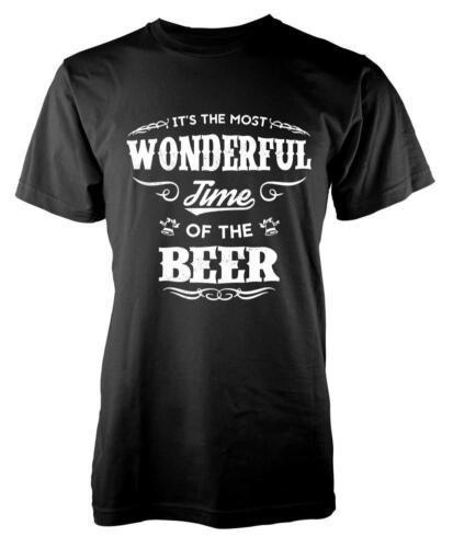 BNWT son le plus merveilleux moment de la bière de Noël Adulte T-Chemise S-XXL